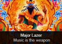 Major Lazer - album Music is the Weapon